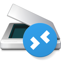 Scanner for Remote Desktop Icon PNG 256x256